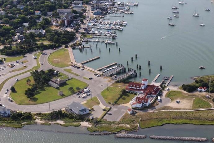 Orcacoke coast guard station wide