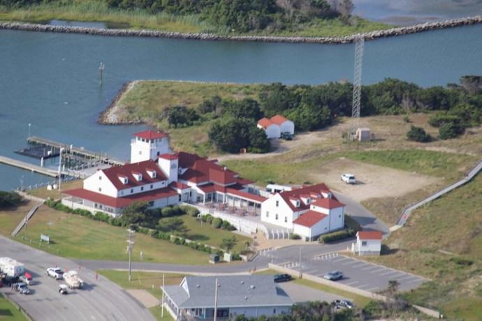 Orcacoke coast guard station