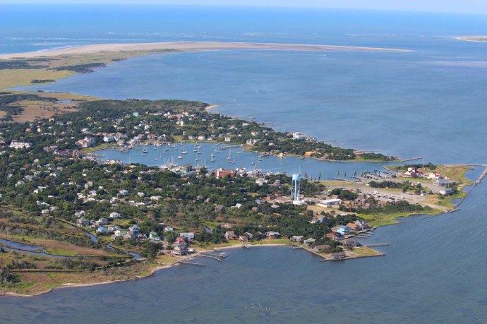Orcacoke far view