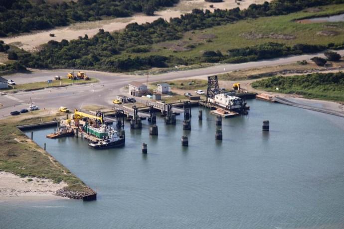 Orcacoke ferry
