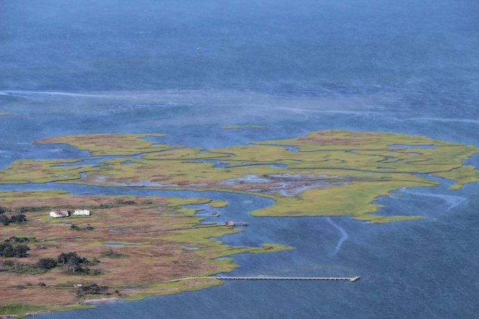 Orcacoke historic farm, blue view