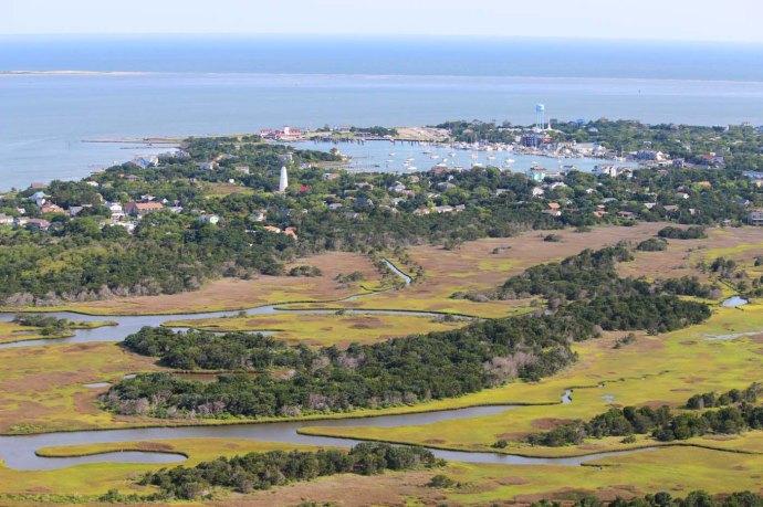 Orcacoke island & waterways
