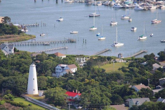 Orcacoke lighthouse & harbor