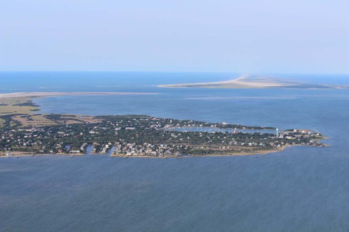 Orcacoke to Hatteras view