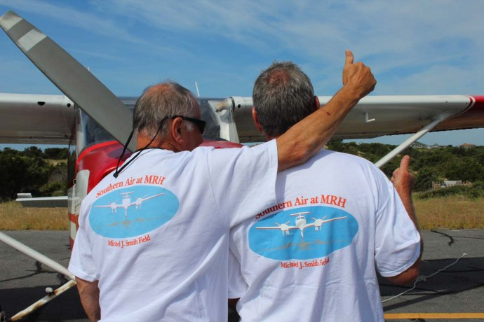 Pilots t-shirt backs