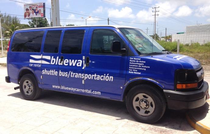 Blueway van