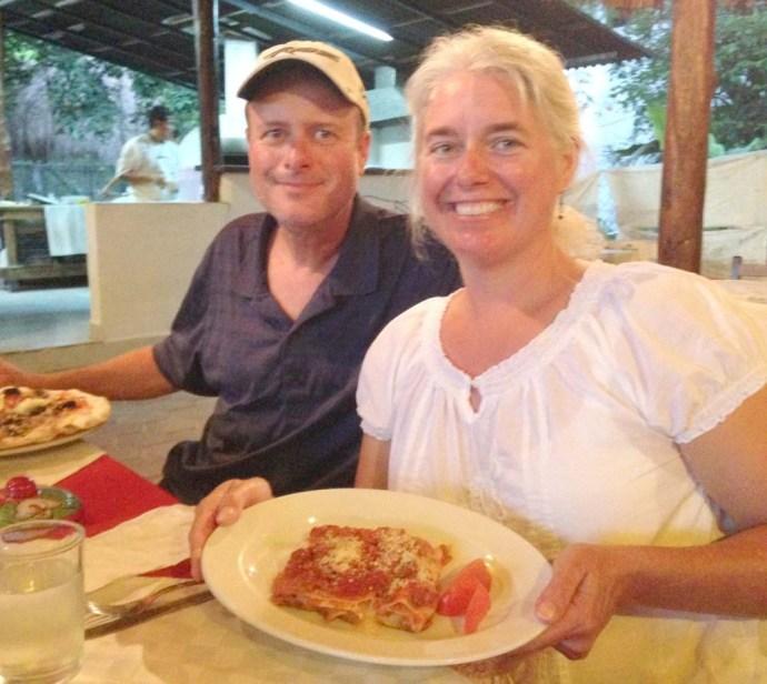 La Siesta Pizzeria, Tulum Jamie and Wally