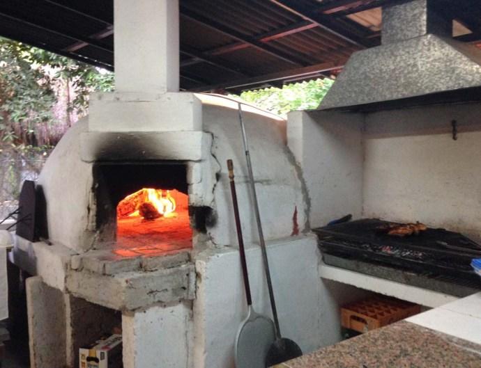 La Siesta Pizzeria, Tulum pizza oven