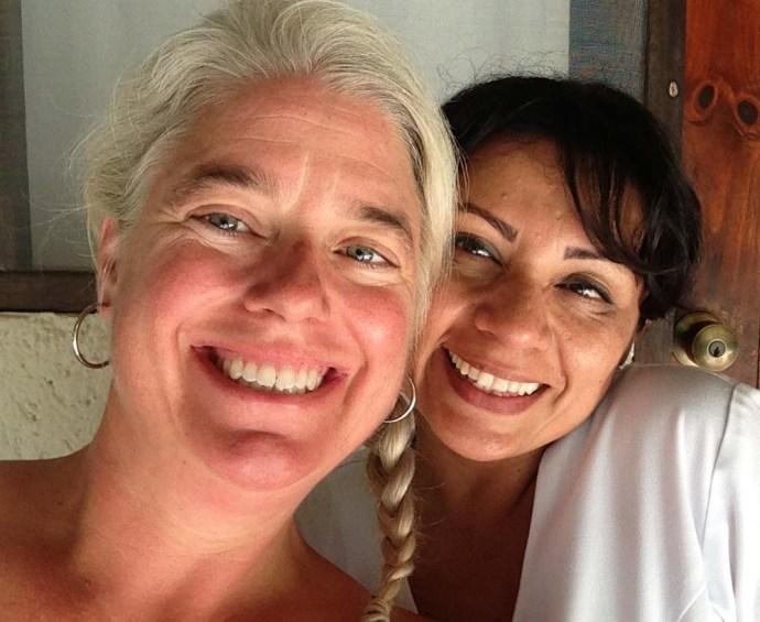 maya Tulum jamie and therapist selfie