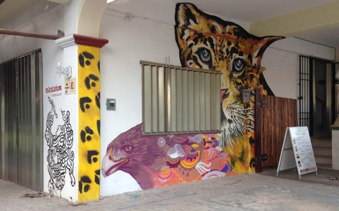 Tulum wall paintings
