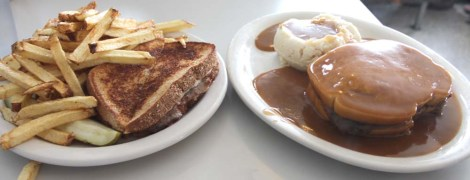 Amish Country, White Horse Luncheonette plates