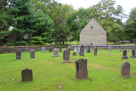 Ephrata Cloister cemetery & bldg