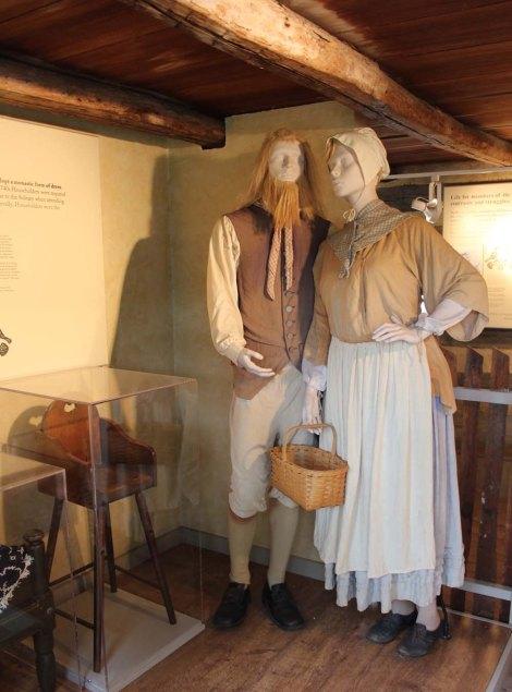 Ephrata Cloister couple