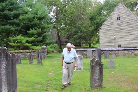 Ephrata Cloister George in cemetery