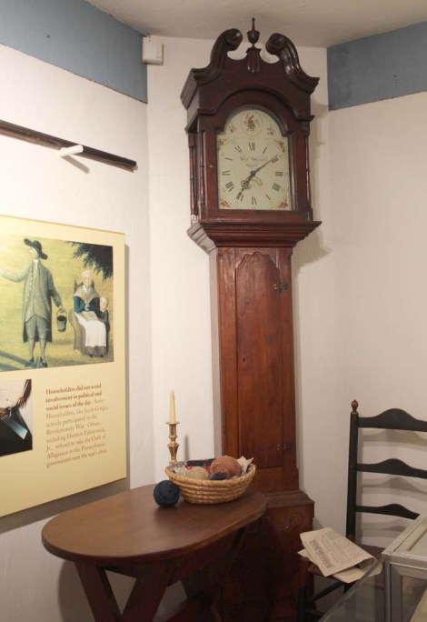 Ephrata Cloister grandfather clock