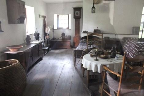 Ephrata Cloister living interior