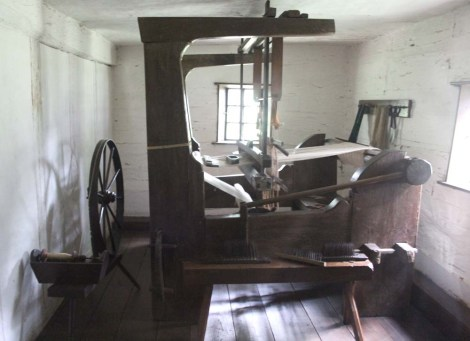 Ephrata Cloister weaving room