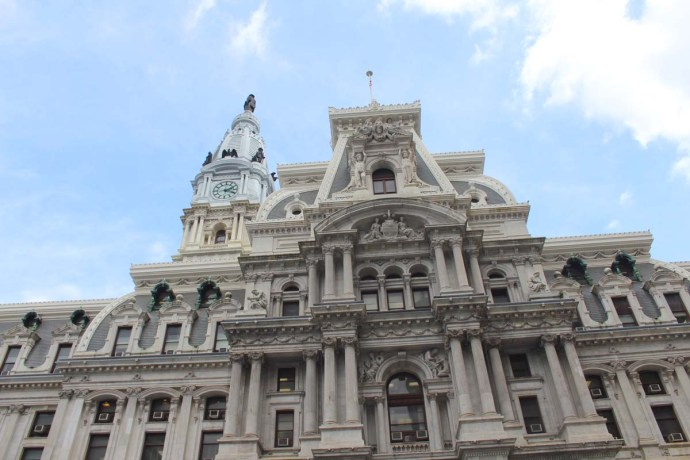 Philadelphia City Hall top