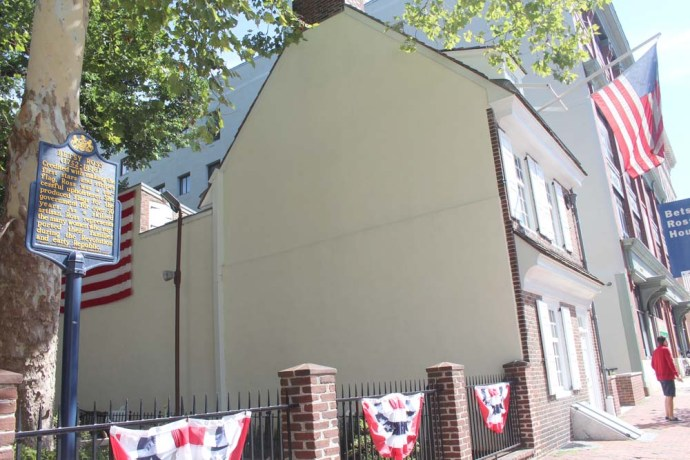 Philly, Betsy Ross house
