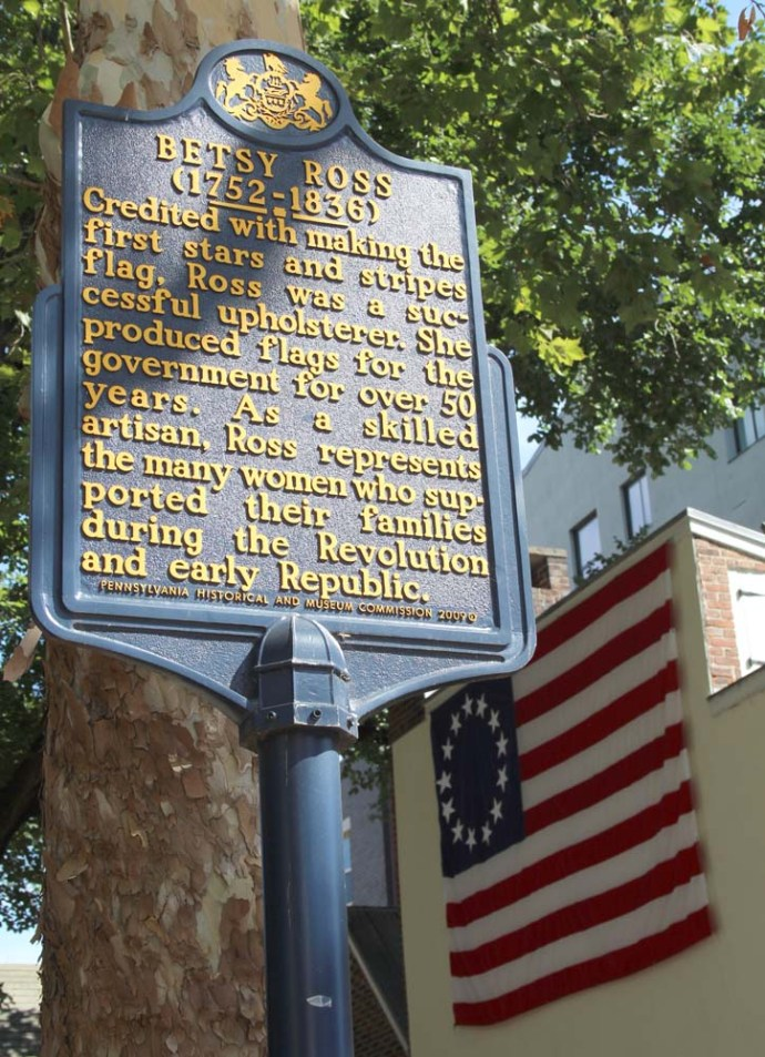 Philly, Betsy Ross sign