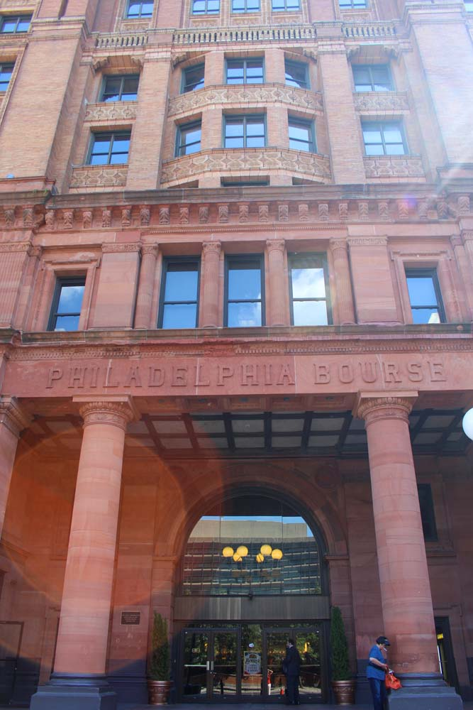 Philly Bourse Hall exterior