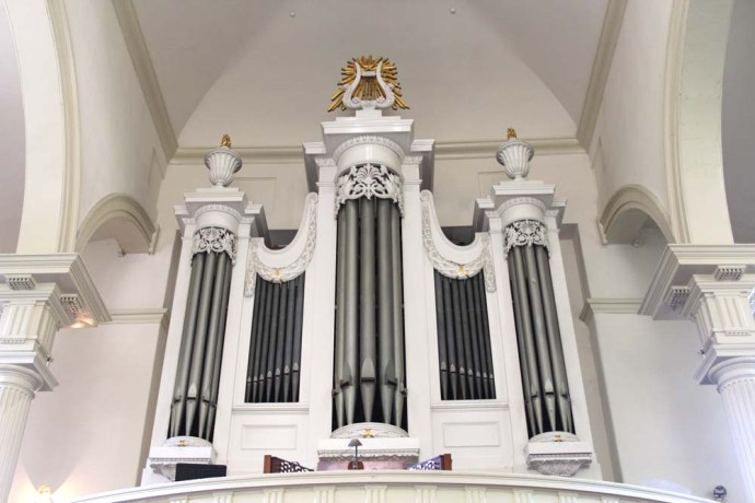 Philly, Christ Church organ