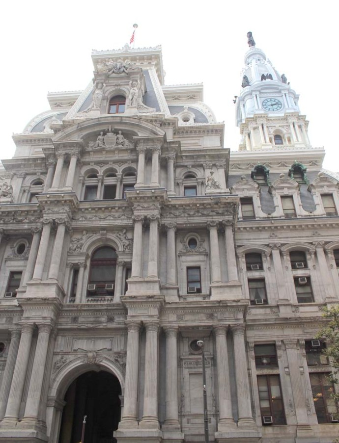 Philly City Hall vert