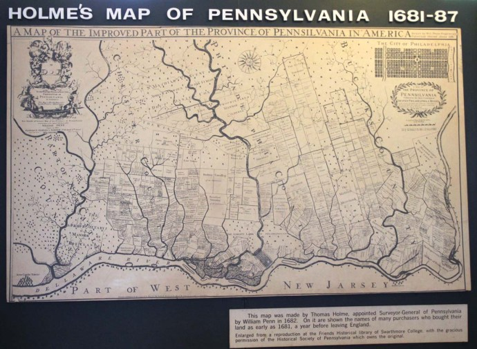 Philly Quaker Hilmes Map of PA