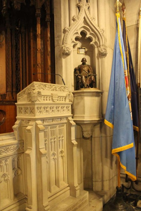 Valley Forge chapel lectern