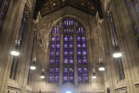 Valley Forge chapel stained glass