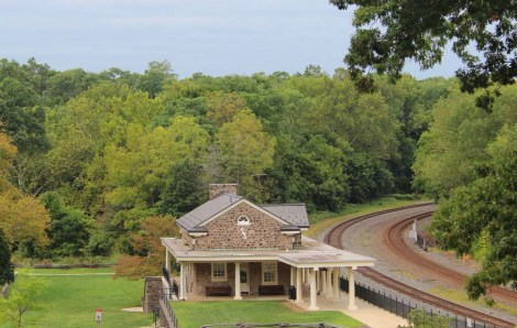Valley Forge train depot